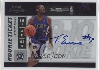 2009-10 Playoff Contenders - [Base] #104 - Rookie Ticket - Tyreke Evans