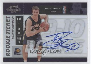 2009-10 Playoff Contenders - [Base] #111 - Rookie Ticket - Tyler Hansbrough
