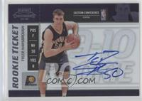Rookie Ticket - Tyler Hansbrough