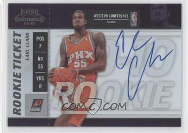 2009-10 Playoff Contenders - [Base] #112 - Rookie Ticket - Earl Clark