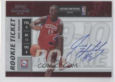 2009-10 Playoff Contenders - [Base] #115 - Rookie Ticket - Jrue Holiday