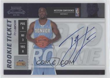 2009-10 Playoff Contenders - [Base] #116 - Rookie Ticket - Ty Lawson