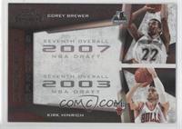Kirk Hinrich, Corey Brewer /50