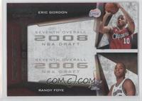 Randy Foye, Eric Gordon /50