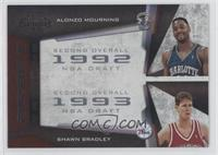 Alonzo Mourning, Shawn Bradley /50