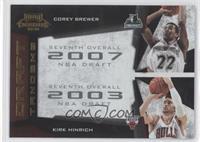 Corey Brewer, Kirk Hinrich /100