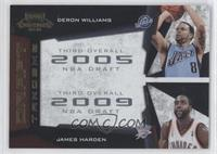 Deron Williams, James Harden /100