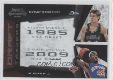2009-10 Playoff Contenders - Draft Tandems #20 - Detlef Schrempf, Jordan Hill