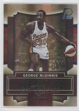 2009-10 Playoff Contenders - Legendary Contenders - Black #18 - George McGinnis /50