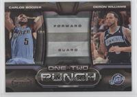 Carlos Boozer, Deron Williams /50