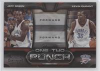 Jeff Green, Kevin Durant #/50
