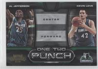 Kevin Love, Al Jefferson /100