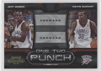 Jeff Green, Kevin Durant /100