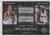 Dirk Nowitzki, Josh Howard /100