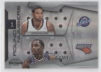 Deron Williams, Gerald Henderson /50