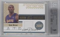Kobe Bryant /99 [BGS9MINT]