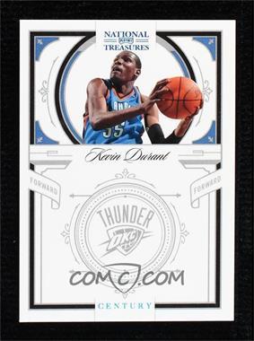 2009-10 Playoff National Treasures - [Base] - Century Platinum #15 - Kevin Durant /1