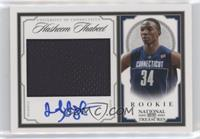 Rookie Patch Autographs - Hasheem Thabeet #/99