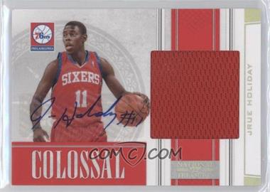 2009-10 Playoff National Treasures - Colossal - Signatures [Autographed] #32 - Jrue Holiday /49