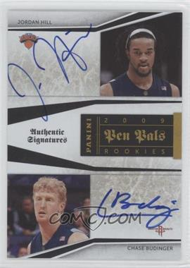 2009-10 Playoff National Treasures - Pen Pals #JH-CB - Jordan Hill, Chase Budinger /50