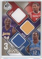 Metta World Peace, Kobe Bryant, Dwight Howard /125