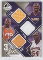 Kobe Bryant, Shaquille O'Neal, Horace Grant /125