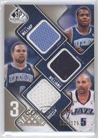 Paul Millsap, Deron Williams, Carlos Boozer /125
