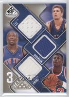 David Lee, Nate Robinson, Patrick Ewing /125
