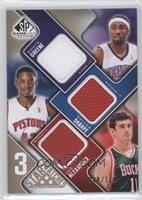 Donte Greene, Walter Sharpe, Joe Alexander /125