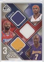 Corey Maggette, Baron Davis, Lamar Odom #/125