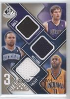 Beno Udrih, Deron Williams, Jamaal Tinsley /125