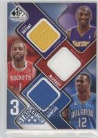 Kobe Bryant, Tracy McGrady, Dwight Howard /50