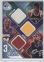 Oscar Robertson, Kobe Bryant, Lebron James /50