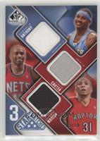 Carmelo Anthony, Vince Carter, Shawn Marion #/50