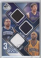 Beno Udrih, Deron Williams, Jamaal Tinsley /50