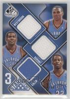 Russell Westbrook, Kevin Durant, Jeff Green /50