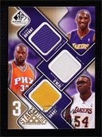 Kobe Bryant, Shaquille O'Neal, Horace Grant #/35
