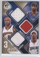 Larry Hughes, Corey Maggette, Josh Howard /35