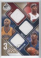 Jermaine O'Neal, Jamaal Tinsley, Al Harrington /35
