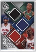 Richard Hamilton, Ben Gordon, Ray Allen #/299