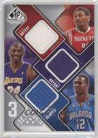Metta World Peace, Kobe Bryant, Dwight Howard /299