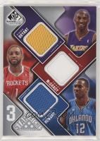 Kobe Bryant, Tracy McGrady, Dwight Howard #/299