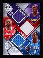 Kobe Bryant, Tracy McGrady, Dwight Howard #/299