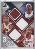 Josh Howard, Luther Head, Carl Landry /299
