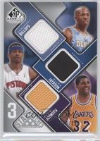 Chauncey Billups, Allen Iverson, Magic Johnson /299