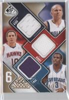 Jason Kidd, Mike Bibby, Chris Paul, Steve Nash, Chauncey Billups, Baron Davis /…