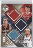 Nenê, Chris Wilcox, Amare Stoudamire, Yao Ming, Mike Dunleavy, Drew Gooden /65