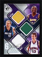 Kobe Bryant, Dirk Nowitzki, Steve Nash, Tim Duncan, Allen Iverson, Kevin Garnet…