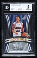 Stephen Curry [BGS 9 MINT] #/399