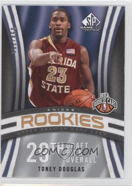 2009-10 SP Game Used - [Base] #136 - Toney Douglas /399